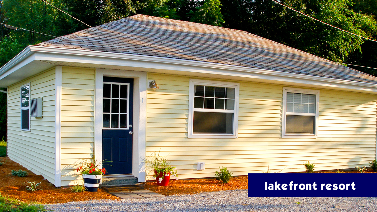 Blue Door Cottages Is A Collection Of Vacation Al Cabins Located On Lake Shafer In Monticello Indiana Addition To Enjoying The Lakefront Lifestyle